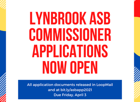 ASB Commissioner Applications