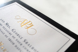 Alexis & Jonathan Wedding Invitation