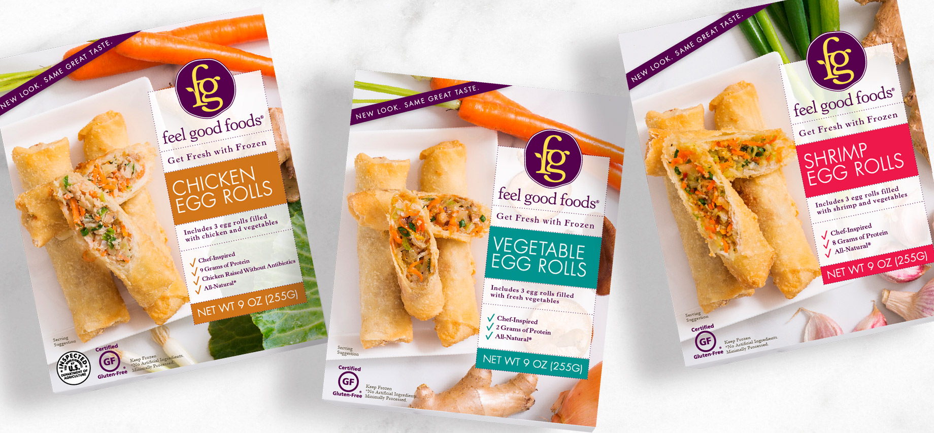 Feel Good Foods Eggrolls