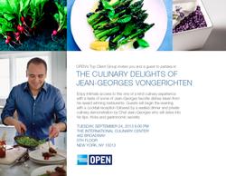 JEAN GEORGES INVITATION