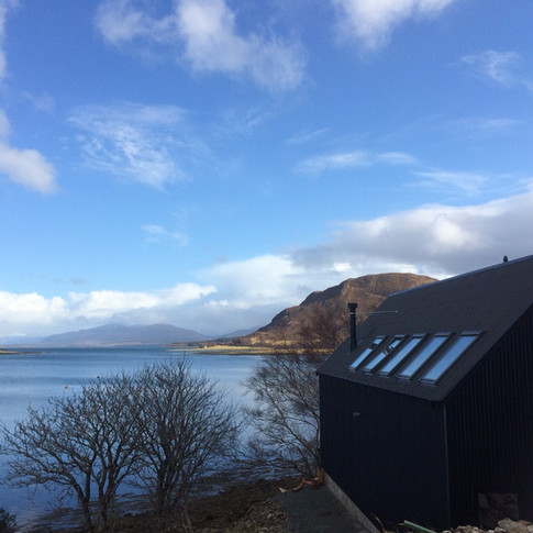 The Tin Sheds, Isle of Skye