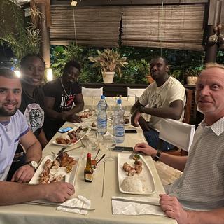 Don Bosco Invitational team dinner