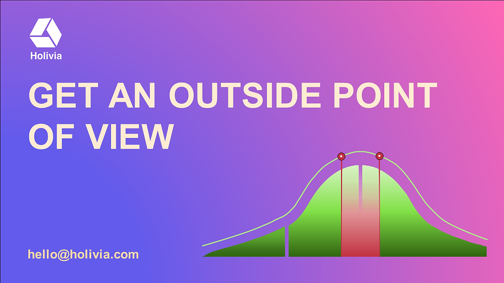 Get an outside point of view