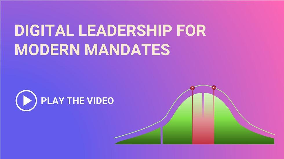 Play the video: Digital Leadership