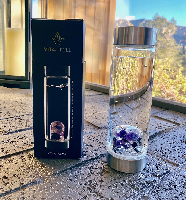 VitaJuwel: Vitalize Your Drinking Water   Water Bottles   Yoga Fashion Self Care Blogger