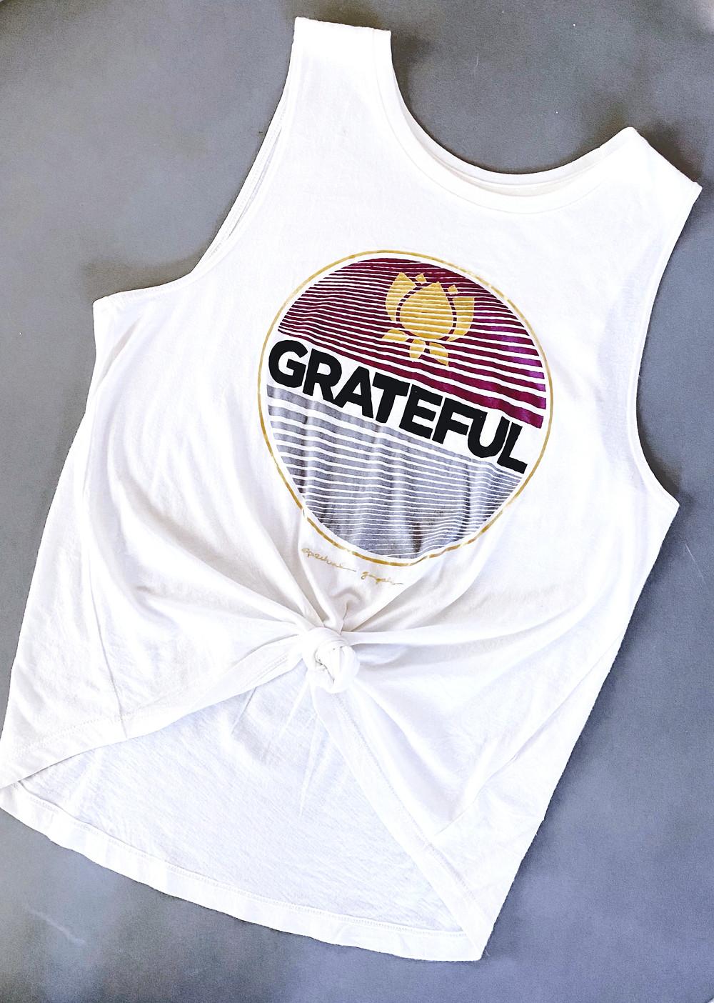 Spiritual Gangster's Grateful Muscle Tank