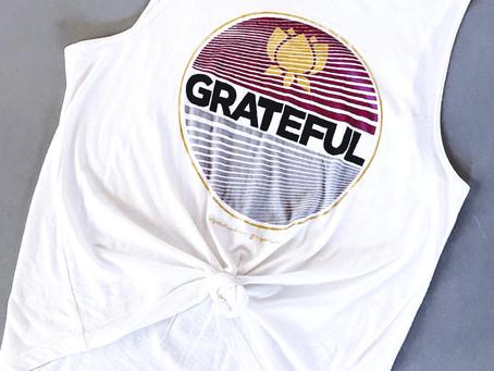 Wear Your Gratitude Like A Cloak