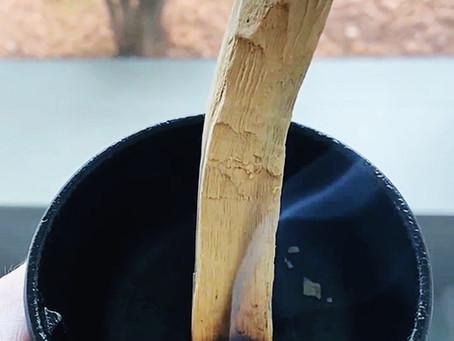 Burning Palo Santo Wood To Increase Focus & Reduce Stress