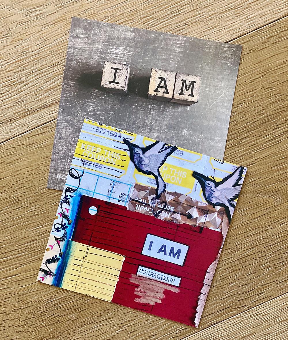 Artist Nichole Rae's I AM Card Deck | Art of Daily Practice | Yoga Fashion Self Care Blogger