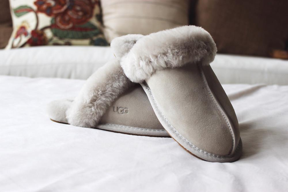 Ugg Shearling Slippers   Ugg   Yoga Fashion Self Care Blogger
