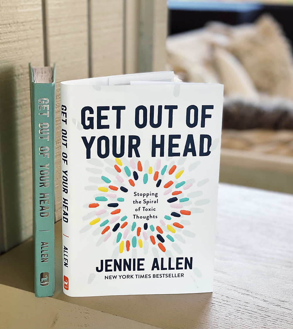 Get Out of Your Head Stopping the Spiral of Toxic Thoughts | Jennie Allen | Yoga Fashion Self Help Blogger