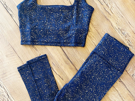 Don't Be Afraid To Sparkle: Incorporating Pattern Into Your Workout Wardrobe