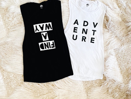 Find A Way To Adventure Tank Tops