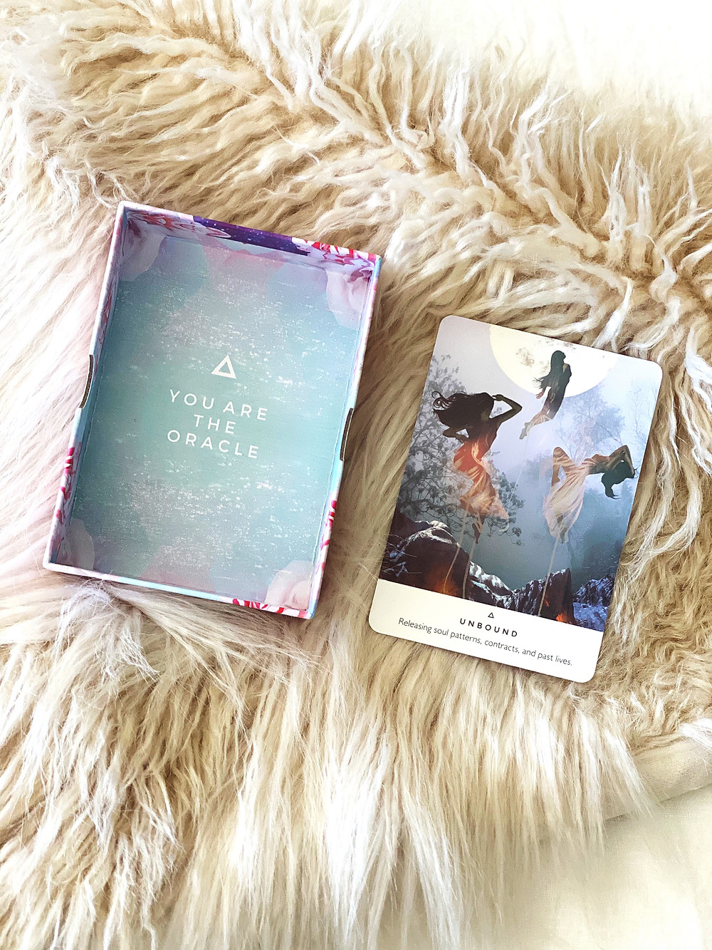 Rebecca Campbell's Work Your Light Oracle Card Deck | Yoga Fashion Self Care Blogger