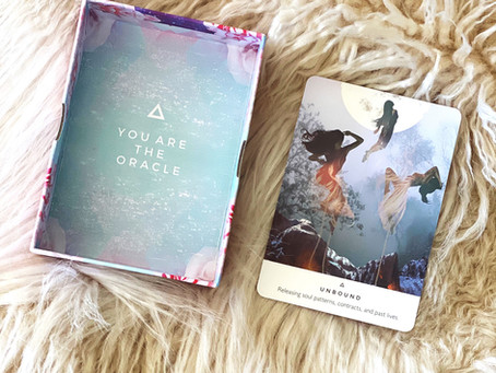 Using An Oracle Card To Dig Deeper