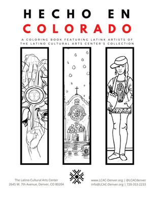 A New Round of Artists Featured in the Hecho en Colorado Coloring Book