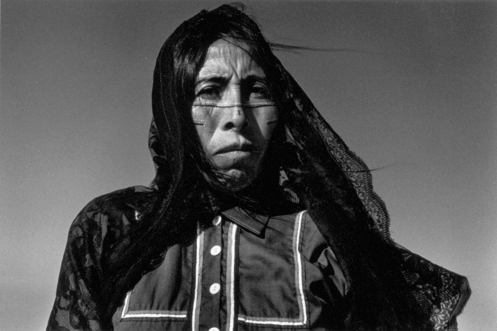 Graciela Iturbide (México). Angelita, Sonoran Desert, México. Gelatin silver print, 1979.