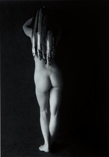 """Flor Garduño (Mexico City, México). """"Medusa"""". Gelatin silver print, 1989."""