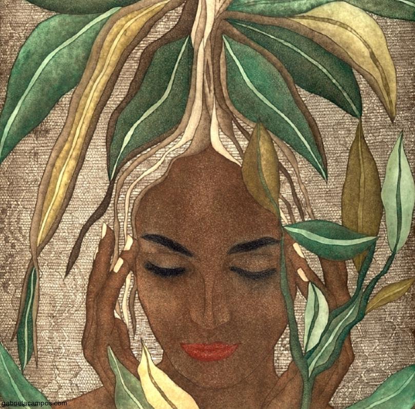 Gabriela Campos (México). Lithograph.