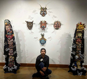 Cal Duran's Art is Housed in LCAC's Collection