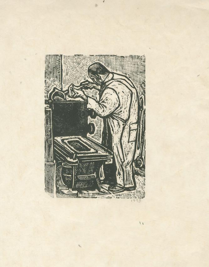 José Guadalupe Posada(México). Etching.