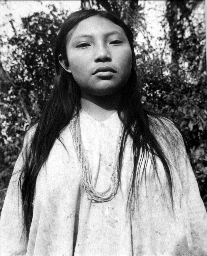 Manuel Álvarez Bravo (México). Margarita de Bonampak, Chiapas. Gelatin silver print, 1976.