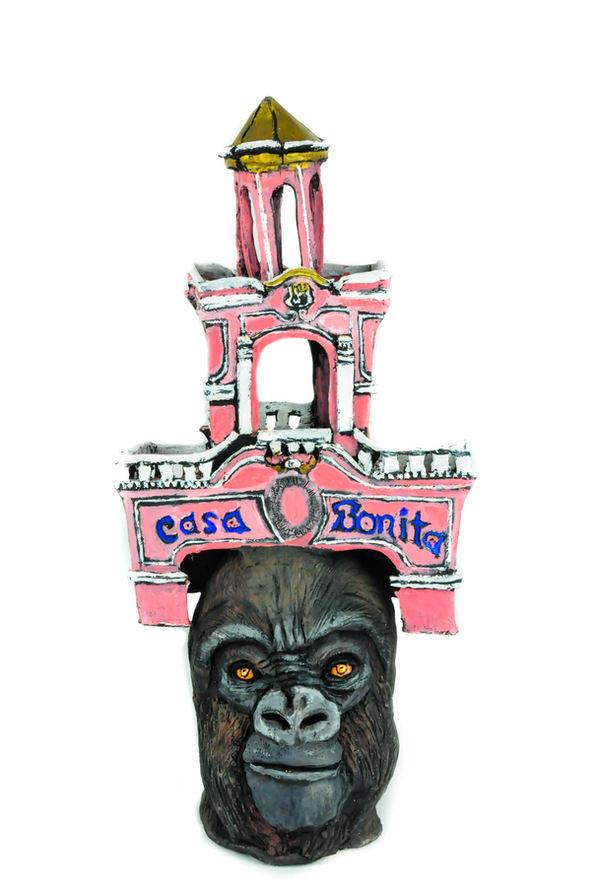 "Cal Duran (Denver, CO). ""Casa Bonita"". Ceramic, 2019."