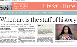 The Denver Post: See a Century of Colorado's Latino Culture Through Art
