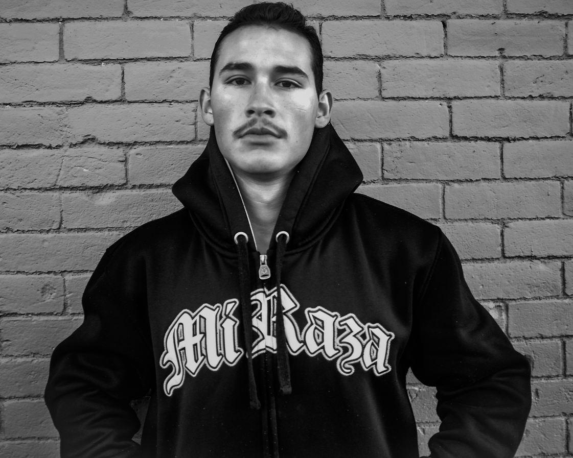 "Juan Fuentes (Denver, CO). ""La Raza""."
