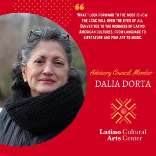 Faces Behind LCAC with Dalia Dorta
