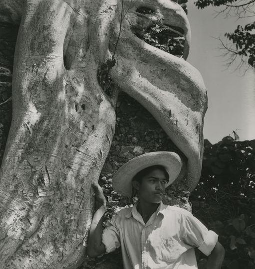 Fritz Henle (German). Joven de Jalisco, México. Silver gelatin print, 1947.