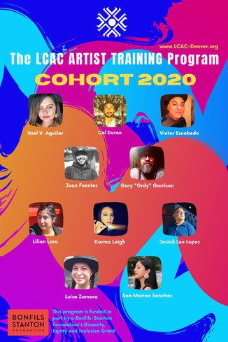 The LCAC Announces the 2020 Cohort for the LCAC Artist Training Program