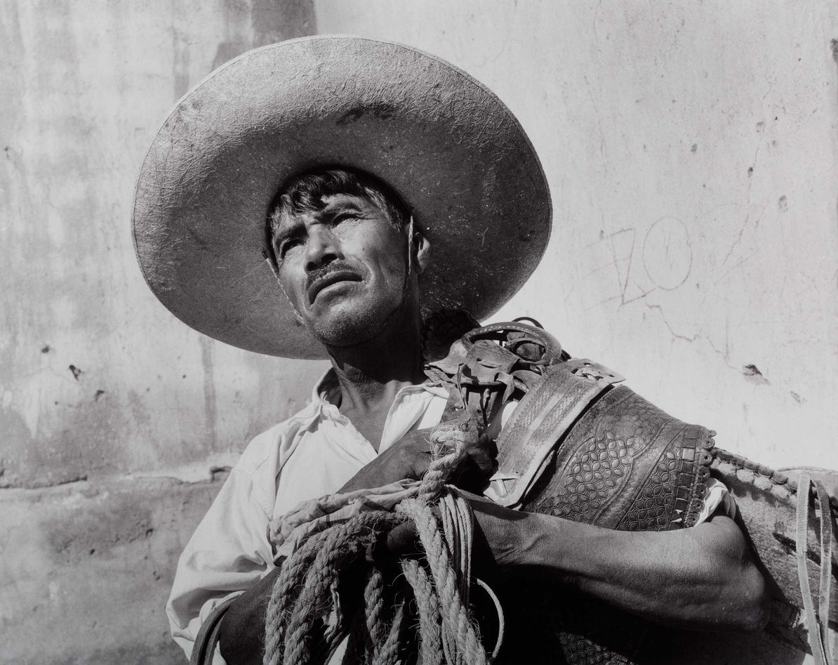 Manuel Carrillo (México). Portrait, Santa Rosa, Guanajuato. Silver gelatin print, 1960.