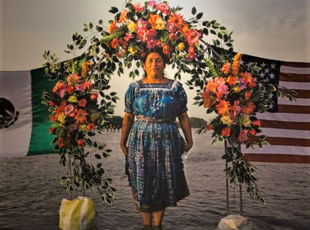 Eniac Martínez (Mexico City, Mexico). Portrait of María Ruiz. Archival pigment print.