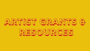 ¡Artistas! Funding and Resources to get You Started on Your Next Brilliant Project