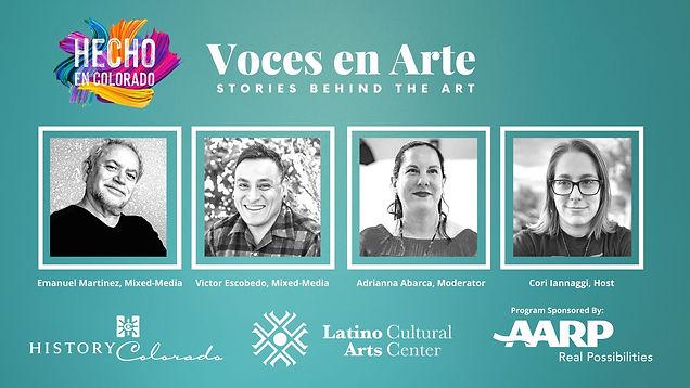 Voces en Arte with Emanuel Martinez and