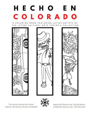 Local Artists in 1st  Hecho en Colorado Coloring Book