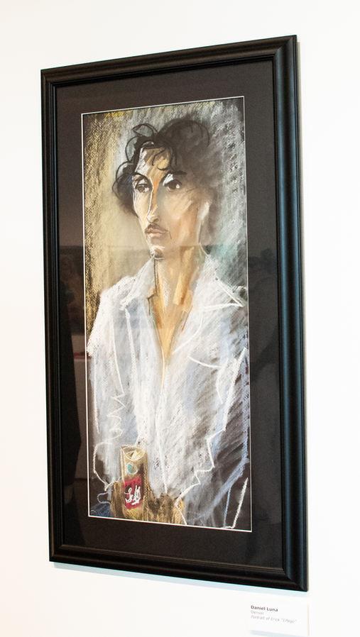 "Daniel Luna (Denver, CO). ""Elfego"". Pastel Painting."