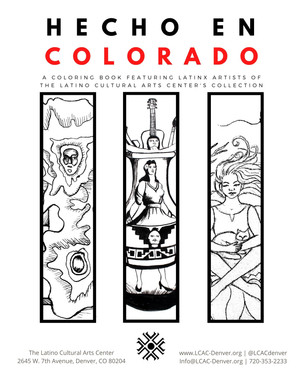 The First Hecho en Colorado Coloring Book