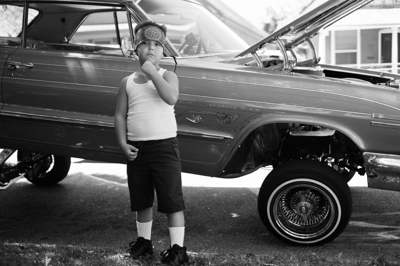 "Juan Fuentes (Denver, CO). ""The Future is Chicano""."