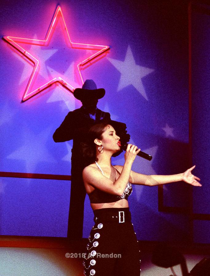 """Al Rendon (San Antonio, TX). """"Tejano Music Awards 1992""""."""