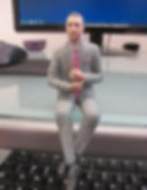 PetitMe 3D Printed Buisness Man