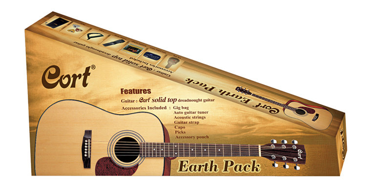 CORT CHITARRA ACUSTICA Earth-Pack