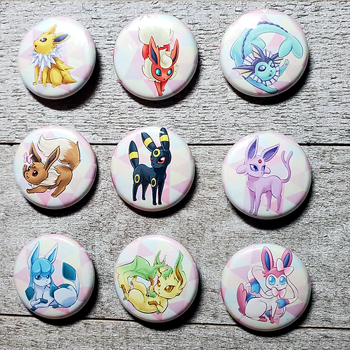 "Eeveelution 1"" Button"