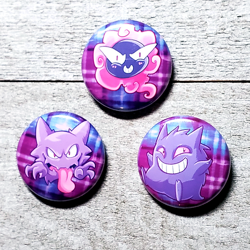 "Spooky Pokemon 1"" Button"