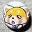 """Thumbnail: Aggretsuko 1"""" Button"""