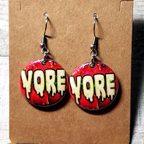 """Vore 1""""Earrings"""