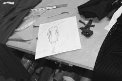 A fashion sketch