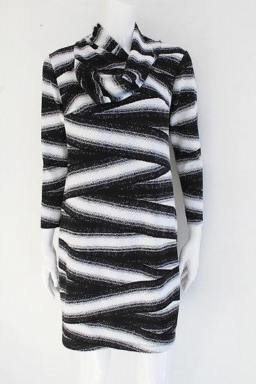 Scarf Neck Dress