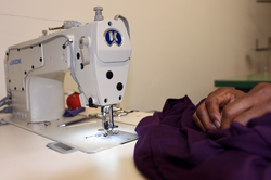Tailors and seamstresses at work